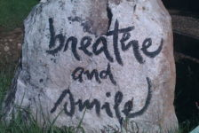 breathe and smile mindfulness