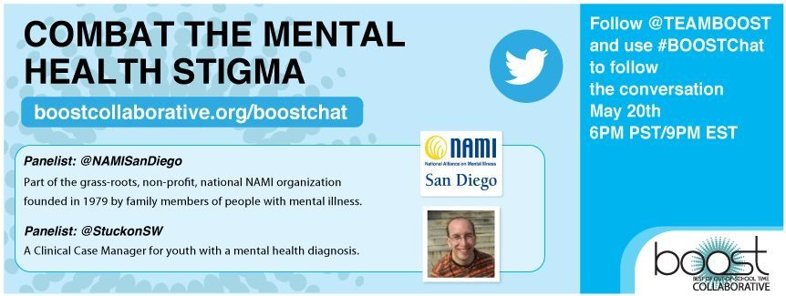 Join Our Twitter Chat On The Mental Health Stigma Boost Cafe