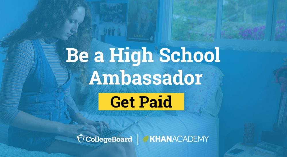 Know a teen who's social media savvy? Seeking High School Brand Ambassadors: College Board (SAT) Instagram Campaign + More!