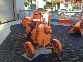feel like a child-tractor
